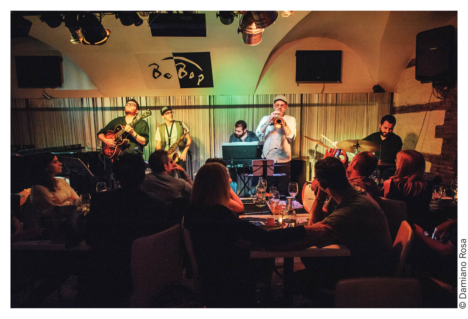 blue moka feat. fabrizio bosso at bebop jazz club rome