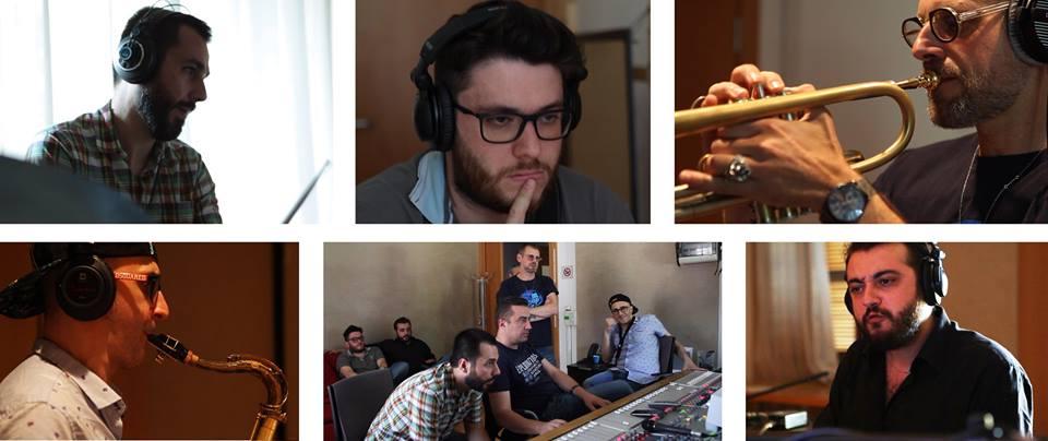 blue moka e fabrizio bosso reigistrano il nuovo album negli studi della casa del jazz a roma
