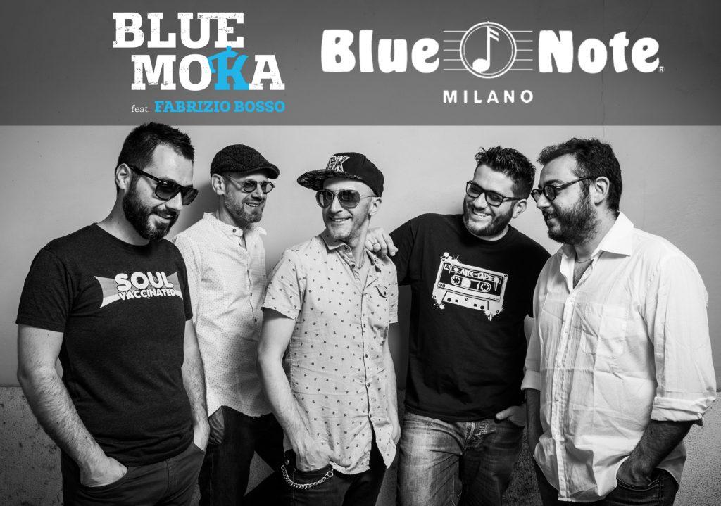 Blue moka feat. Fabrizio Bosso al Blue Note di Milano il 29 Marzo 2018