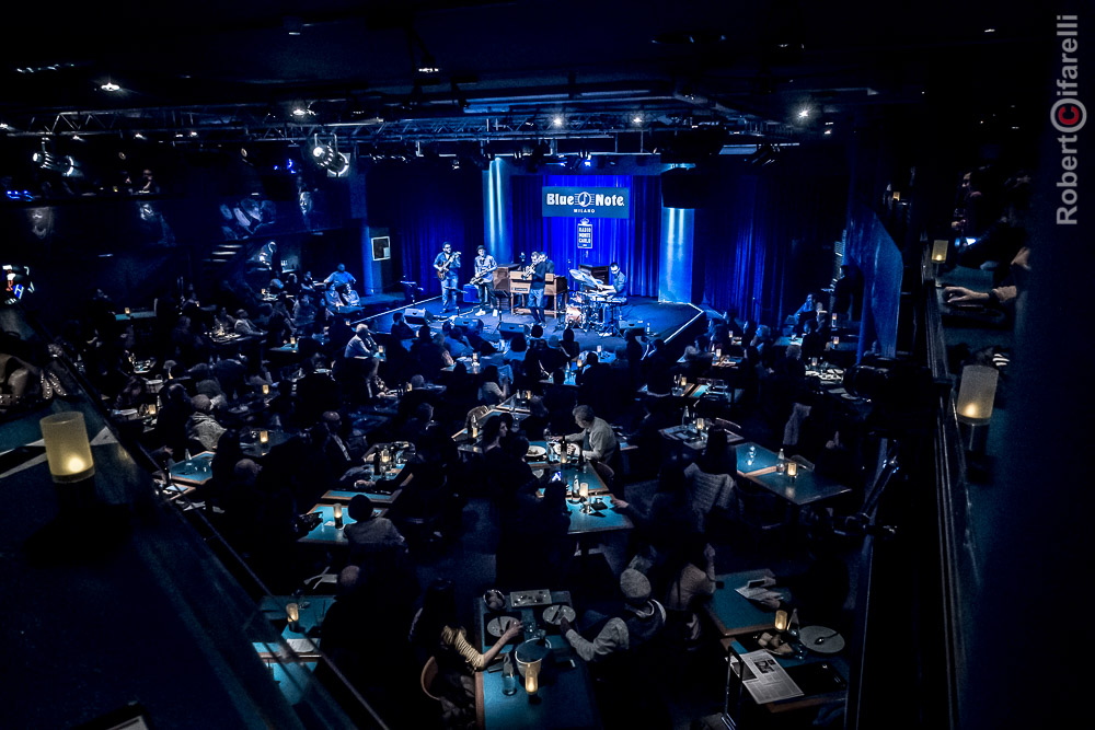 Blue Moka feat. Fabrizio Bosso at Blue Note Milano, Roberto Cifarelli Photographer