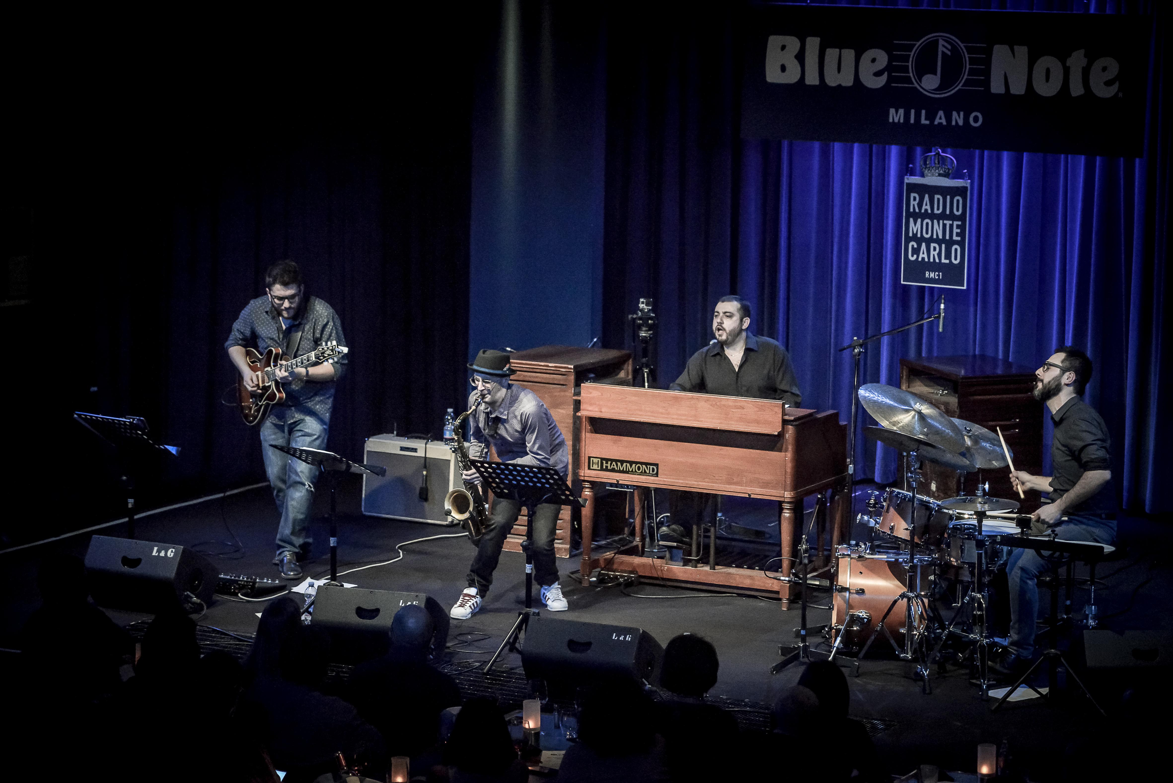 Blue moka fabrizio bosso blue note milano © Roberto Cifarelli